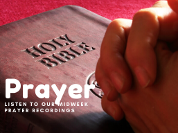 Week of Prayer - Tuesday Evening