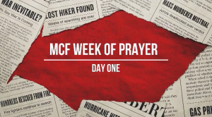 Trusting God In An Hurting World - Week of Prayer - Day 1 - Precinct