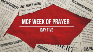 Trusting God In An Hurting World - Week of Prayer - Day 5 - Norton